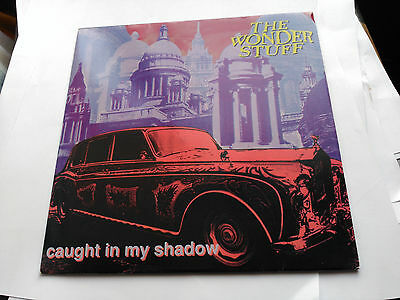 Single The Wonder Stuff - Caught In My Shadow - Polydor Uk 1991 Vg+