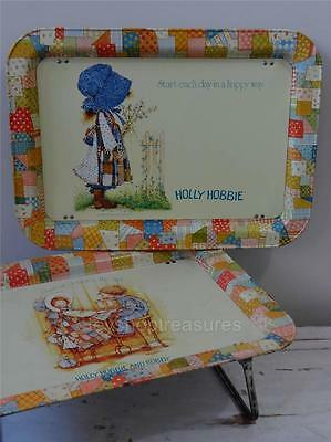 Vintage 70s  HOLLY HOBBIE   TV Tray, laptop Tray, Bed, Desk , or WALL  Display