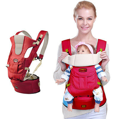 NEW Breathable Baby Carrier Adjustable Sling Wrap hipseat baby manduca Backpack