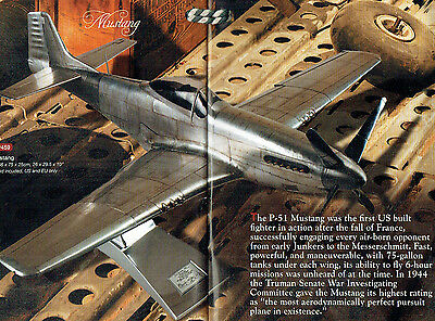 Engineering grade MUSTANG  fighter by Authentic Models