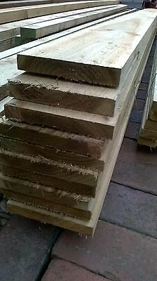 Free Delivery New 6x1(150x22) Sawn Treated/Tanalised Timber Various Lengths