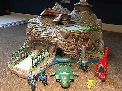 Thunderbirds Tracey Island Playset