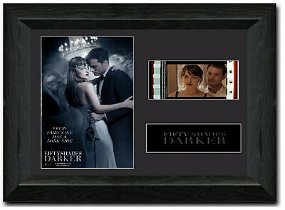 Fifty Shades Darker 35 mm Framed Film Cell Display Stunning Collectible
