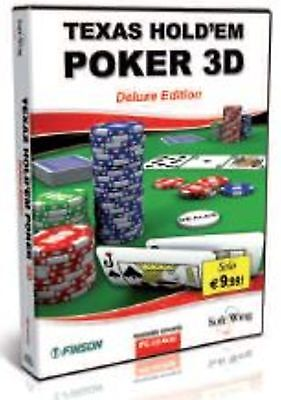 FINSON TEXAS HOLD?EM POKER 3D nuovo