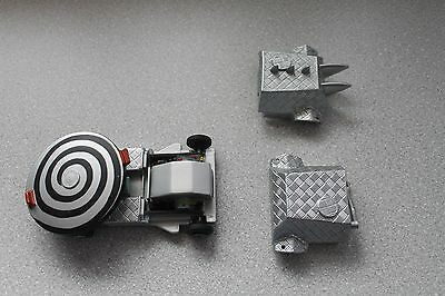 BBC ROBOT WARS LARGE PULLBACK & GO HYPNO DISC WITH RARE DETACHABLE COVER x 2