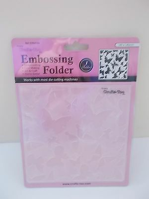 Embossing Folder Butterfly Bold, 14cm x 14cm Crafts Too CTFD3103