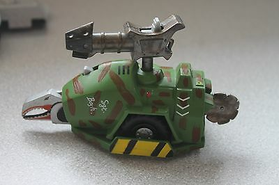 Robot Wars Sgt Bash All Fully Working Pull Back & Go Classic 2002 BBC No Missile