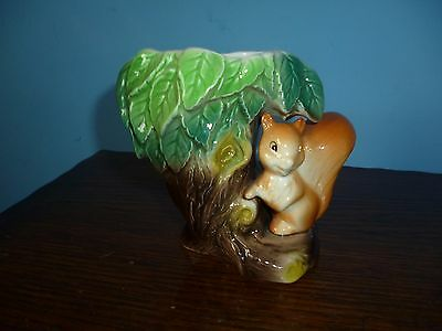 Eastgate Pottery Withernsea Squirrel Vase 4 Inches