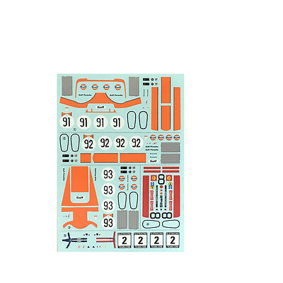 SRT D32002 Decal Porsche 917 K Gulf + Shell No. 8, 91, 92 & 93 1:32