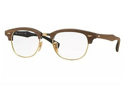 Ray Ban Clubmaster Wood 5154M