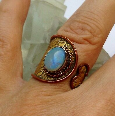 FULL MOON conjured MARID PRINCESS ring ~ Djinn~witchcraft~pagan~wicca witchcraft