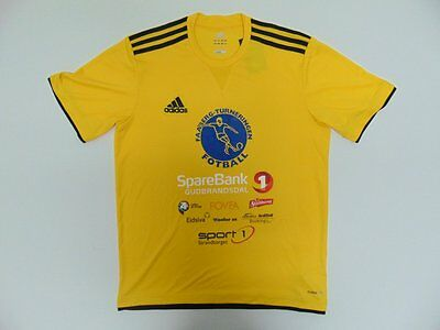 2013 2014 Adidas Faaberg Turneringen Norway Norge home shirt jersey football M