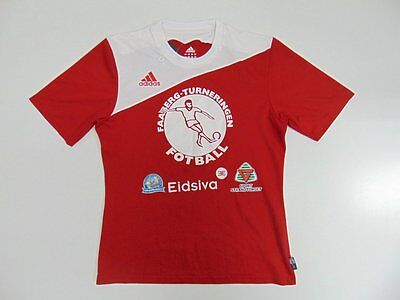 2007 2008 Adidas Faaberg Turneringen Norway Norge home shirt jersey football S