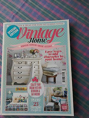 special edition your vintage home renovation decoration magazine