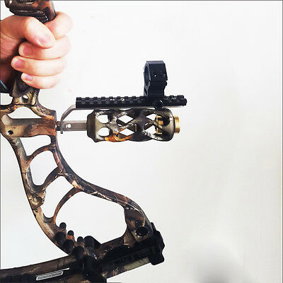 Compound Bow Barrel Mount Holder Support for Laser sight & Flashlight Torch NEW