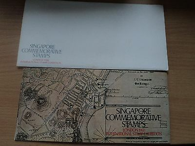 Singapore 6 May 1980 London 1980 Stamp Exhibition Presentation Pack