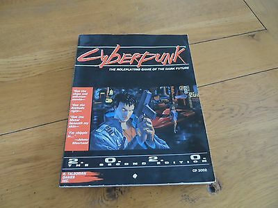 Cyberpunk 2nd Edition main rulebook