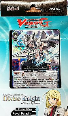 Cardfight G Trial Deck 11 ROYAL PALADIN Divine Knight of Heavenly Decree & bonus