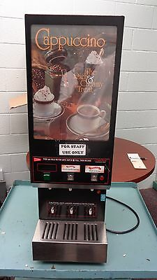 CAPPUCINO MACHINE by Cecilware, #NC75A, 3 Departments. USED.  LOCAL PICKUP ONLY