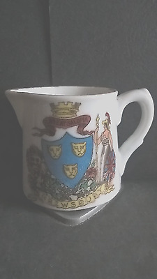 Crested China Jug - Shrewsbury Crest