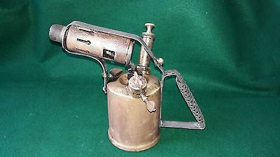 VINTAGE BRASS BLOW LAMP No26 MADE BY MONITOR