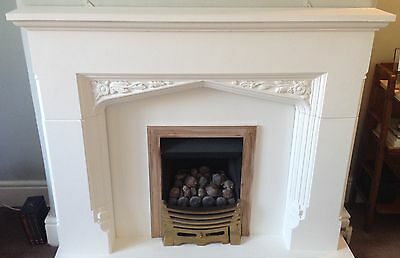 Vintage Fire Surround: Stone effect