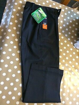 boys navy school trousers aged 10/11 years new with tags