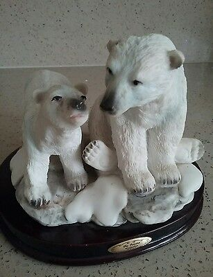 Mother And Cub Polar Bear Fron The 'juliana Collection'