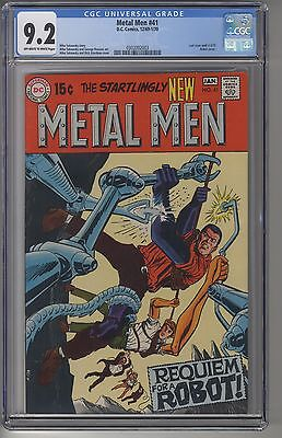 METAL MEN #41 CGC 9.2 OWW Pages DC Silver Age