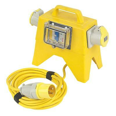 Potable Tool Transformer Splitter Distribution Unit 16 Outlets 110V LIGHTWEIGHT