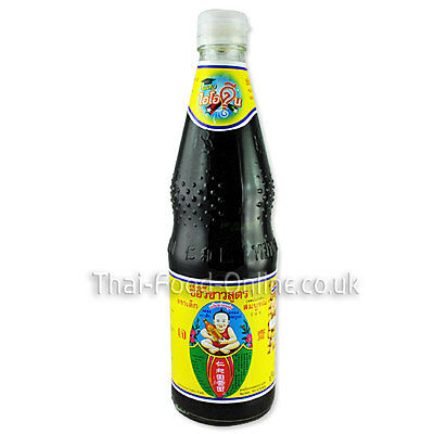 Authentic Thai Thin (Light) Soy Sauce (700ml) by Healthy Boy (S005) UK Seller