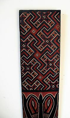 African/Islamic Geometric Art Carved Etched Wall Plaque