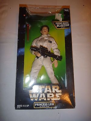 "MIB STAR WARS 12"" Princess Leia in Hoth Gear Action Collection Figure Doll POTF"