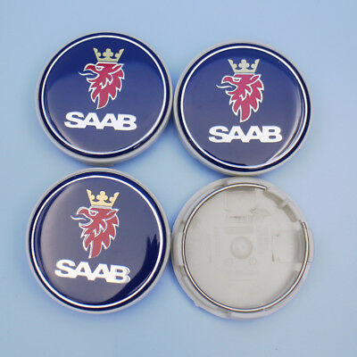 New wheel Centre Hub Cap (Set of 4) 63mm 9-3 9-5 900 12775052 for SAAB