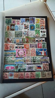 57 timbres Philippines (lot 35)