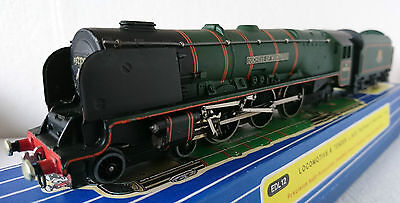 Hornby Dublo Edl12 Duchess Of Montrose Br Green 3 Rail With Later Style Wheels