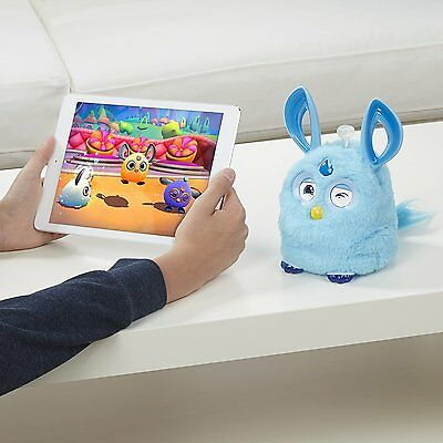 Furby Connect Electronic Pet In Blue With Sleep Mask;new!!!!!!!!