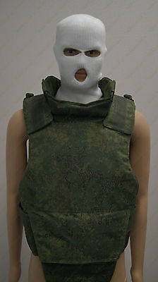 6B23-1 VEST DIGITAL RUSSIAN ARMY BODY ARMOR REAL TACTICAL VEST(6B33,EmptyII)