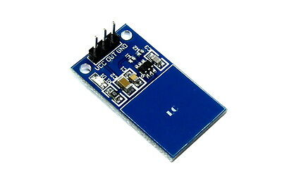 LC Technology TTP223 Capacitive Touch Sensor Module Switch Arduino Flux Workshop