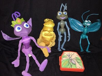 It's A Bugs Life Toys Mixed Lot 5 Pcs. 1990s