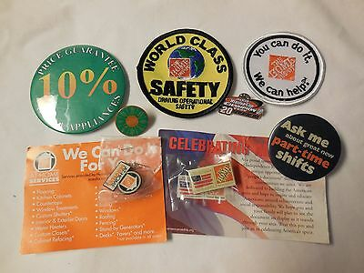 Home Depot Pin And Patch Lot