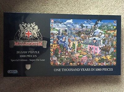 Brand New And Sealed Gibsons 1000 Piece Jigsaw Puzzle One Thousand Years