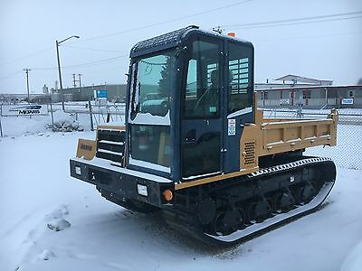 2011 Morooka MST800VD, 375 hrs, Heated cab