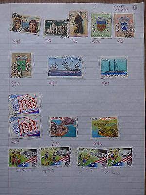 Cape Verde - Various Stamps