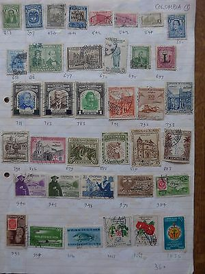 Columbia - Various Stamps