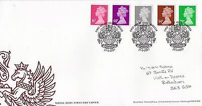 2007 New Definitives With Windsor Specialh/s Fdc From Collection G6