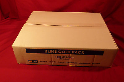 36 Uline Cold Packs 8 oz S-7361 Colder than Ice Reusable Gel Freezer Packs