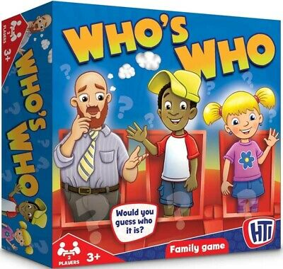 Traditional Board Game Who's Who Guess Who Style Game Family Fun Kids Children