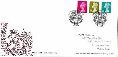 2008 New Definitives With Windsor Specialh/s Fdc From Collection G7