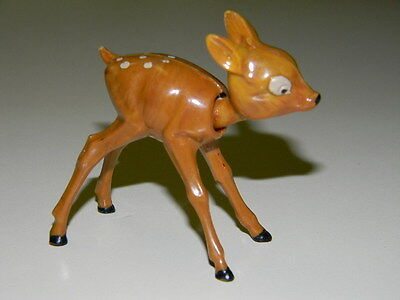 Vintage Celluloid S.A. Reider Toy Bobblehead Bambi Deer Germany